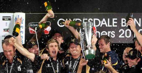 Warwickshire Bears: CB40 champs