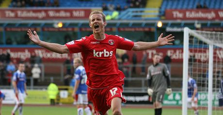 Benson: Charlton striker has been the subject of an enquiry from new Bradford boss Phil Parkinson