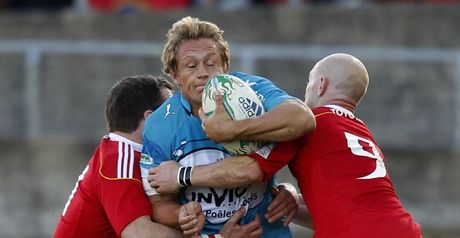 Wilkinson is stopped in his tracks at Thomond Park