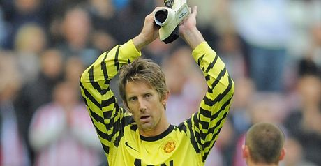 Van der Sar: Expected to retire