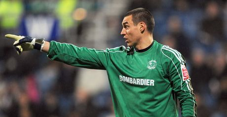 Bywater: Goalkeeper has joined Owls on loan as he does not figure in Derby's first team plans