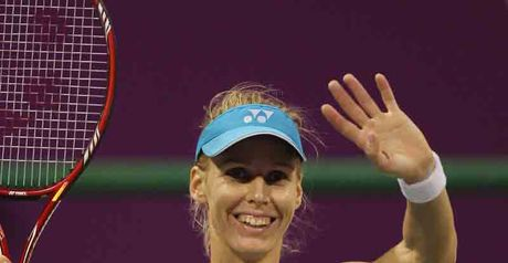 Dementieva says goodbye in Doha