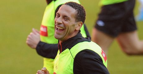 Ferdinand: Happy to be back