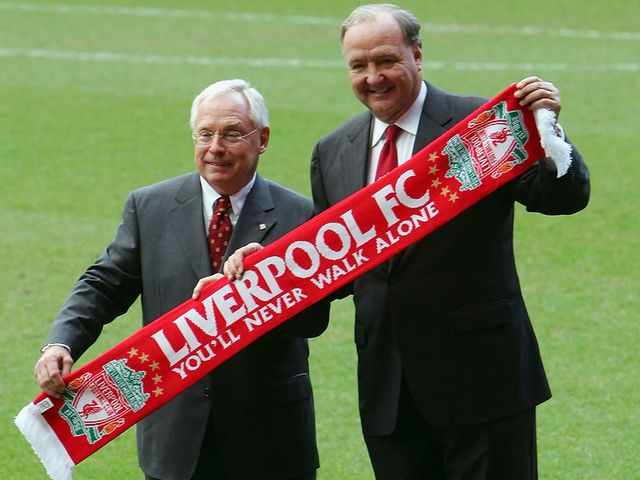 Former Liverpool owners Gillett and Hicks