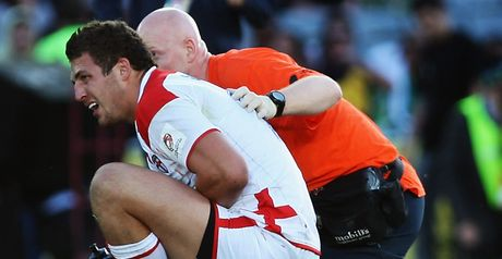 Burgess: Shoulder injury