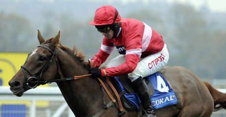 Silviniaco Conti faces a tough task giving weight away.