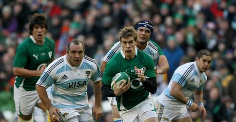 On the attack: Ireland overcame a slow start to earn convincing win