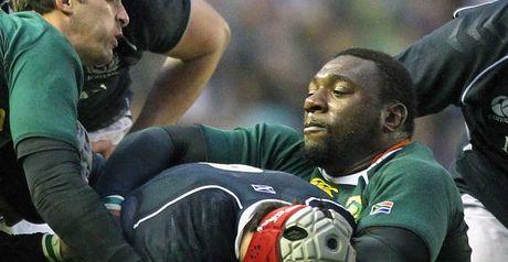 Mtawarira: knee ligament strain