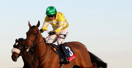 Cois Farraig: On his way to victory at Newbury.