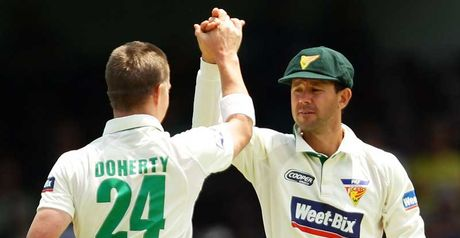 Doherty & Ponting: under pressure