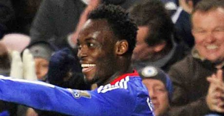 Essien: Has compared Chelsea's up-and-down season to a sandwich