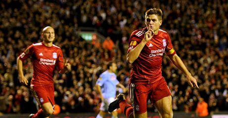 Gerrard: Inspired again.