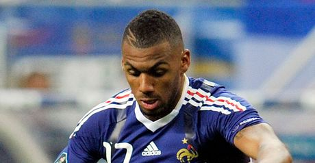 Yann M&#39;Vila: The midfielder suffered a potentially serious ankle injury against Serbia