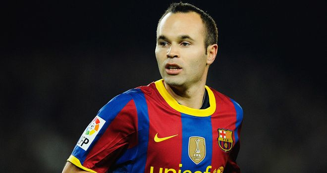 Iniesta: Being supportive