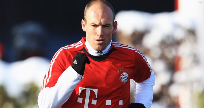 Robben: Thigh injury