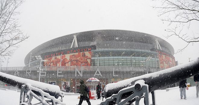 Arsenal: Blanket of snow