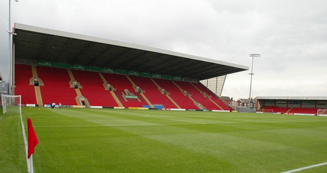 Gresty Road: Home to the Railwaymen