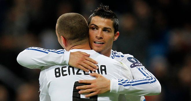 Ronaldo and Benzema: Set to miss out