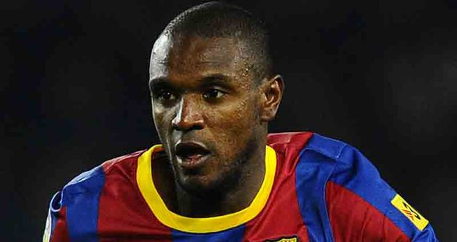 Abidal: Moved to Barca from Lyon in 2007