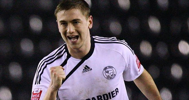 Davies: Netted winner for Derby