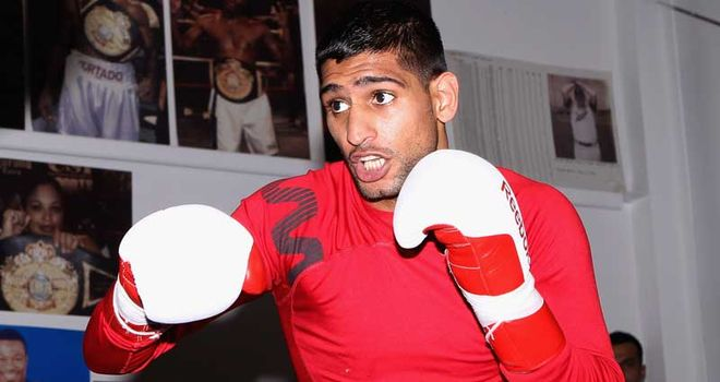 Khan: Could fight back in Britain