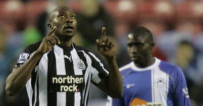 Ameobi: Earned all three points for Magpies