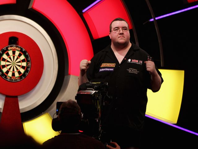 Stephen Bunting: Bang in form