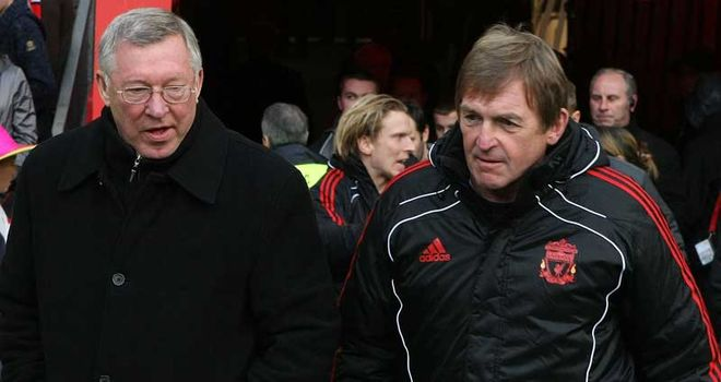 Sir Alex Ferguson and Kenny Dalglish are friends and former foes