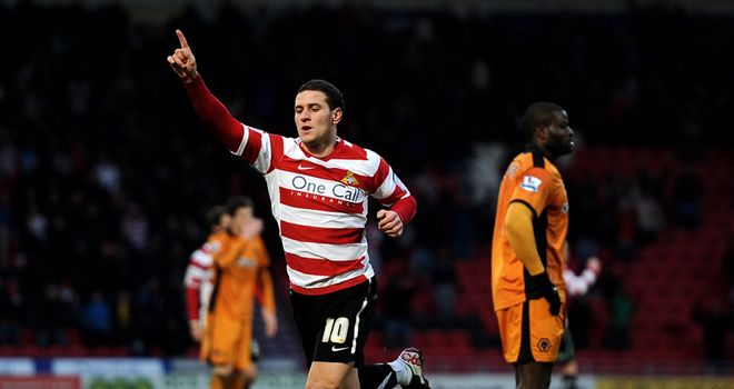 Sharp: Bagged Doncaster's first