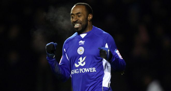 Vassell: Hit the winner for Leicester