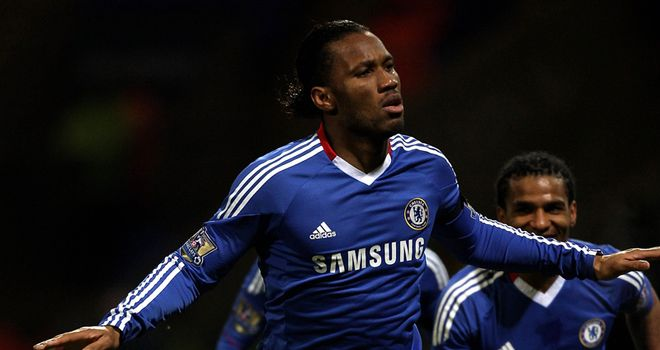 Drogba: Charity worker