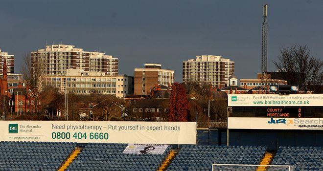 Edgeley Park: Sale share venue with Stockport
