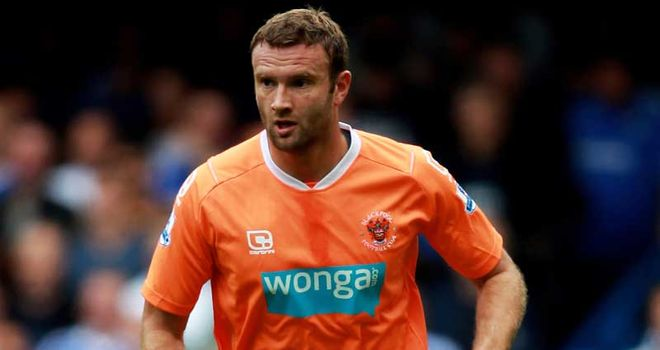 Evatt: Out of contract in the summer but Blackpool are eager for him to stay