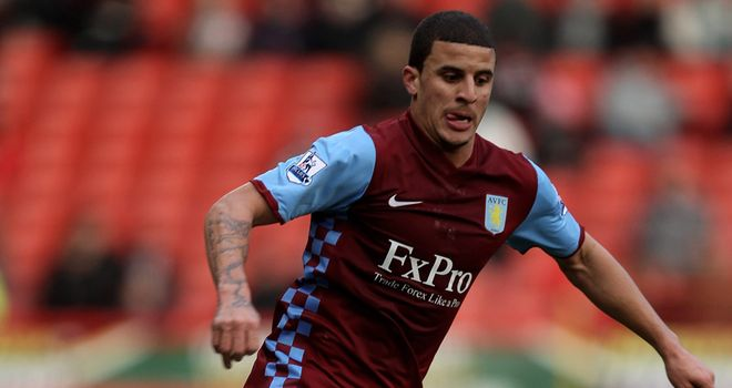 Walker: The Spurs loanee has made a huge impression at Villa