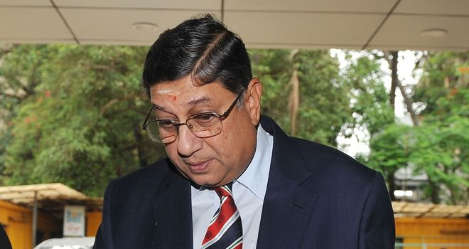N Srinivasan: Believes the IPL is &#39;clean&#39;