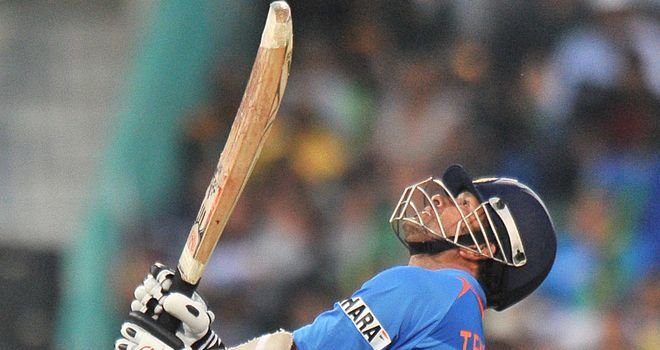 Tendulkar: named in World Cup squad