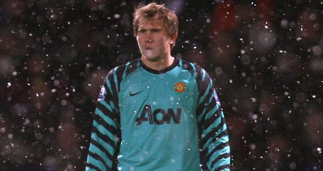 Kuszczak: Angry at his treatment after failing to secure a move away from Manchester United