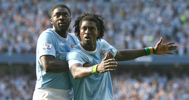 Toure: Playing down bust-up