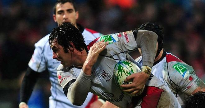 Wannenburg: two tries for Ulster