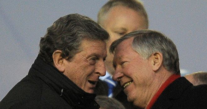 Roy Hodgson (L): Rated highly by Ferguson despite bad spell at Anfield
