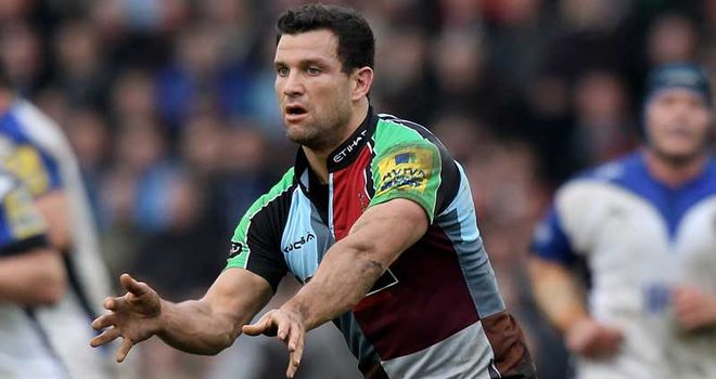 Karl Dickson: superb at No.9 for Quins