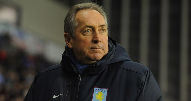 Houllier: Aston Villa boss has been released from hospital after heart scare
