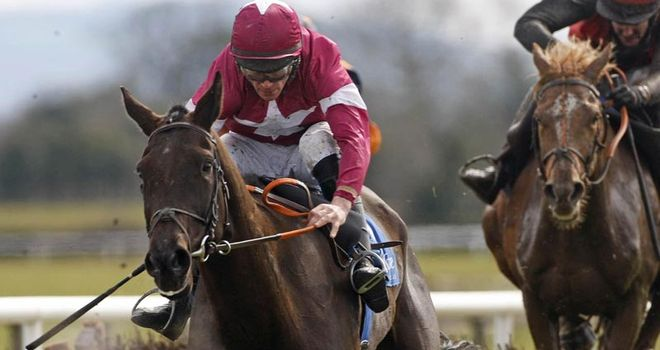 Magnanimity: Suspected wind problem after the eight-year-old trailed home in the Hennessy Gold Cup