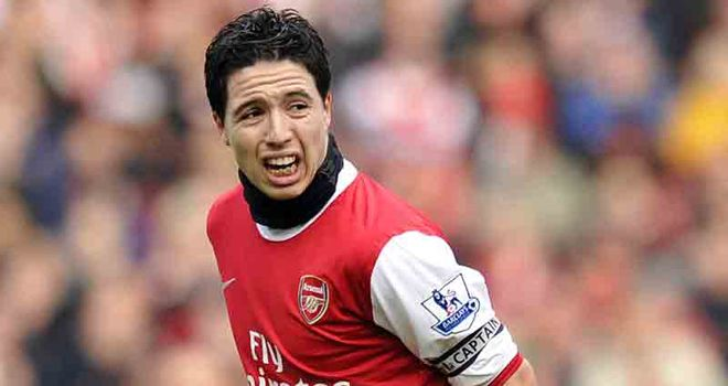 Nasri: Reportedly a target for Premier League champions United