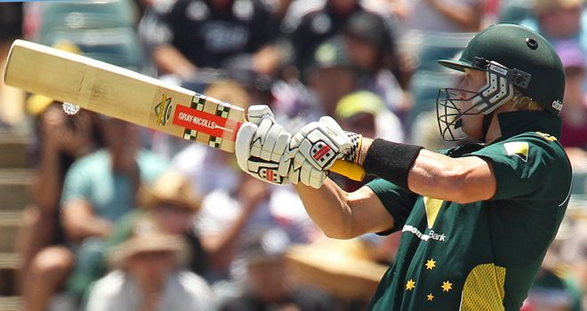 White: Will miss the one-day series