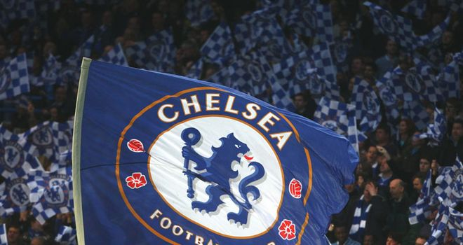 The chants were heard during Chelsea's 1-1 draw against Genk