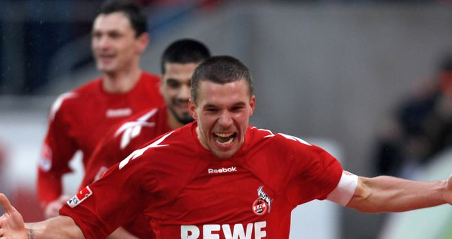 Podolski: Cologne are confident star player will not leave them