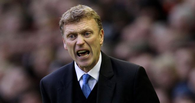 Moyes: Has been without four of his key players
