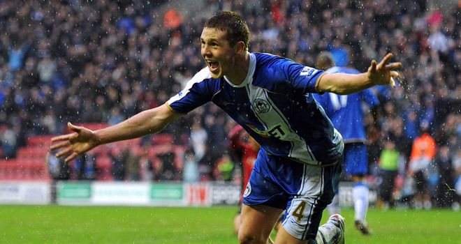 McCarthy: Target for bigger clubs but McArthur hopes his fellow midfielder stays at Wigan