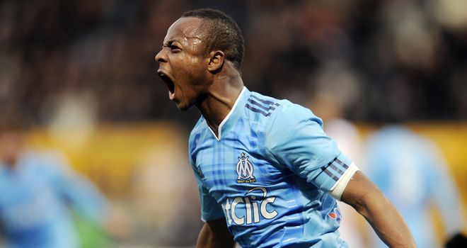 Ayew: Has been linked with Arsenal but Marseille say there has been no approach